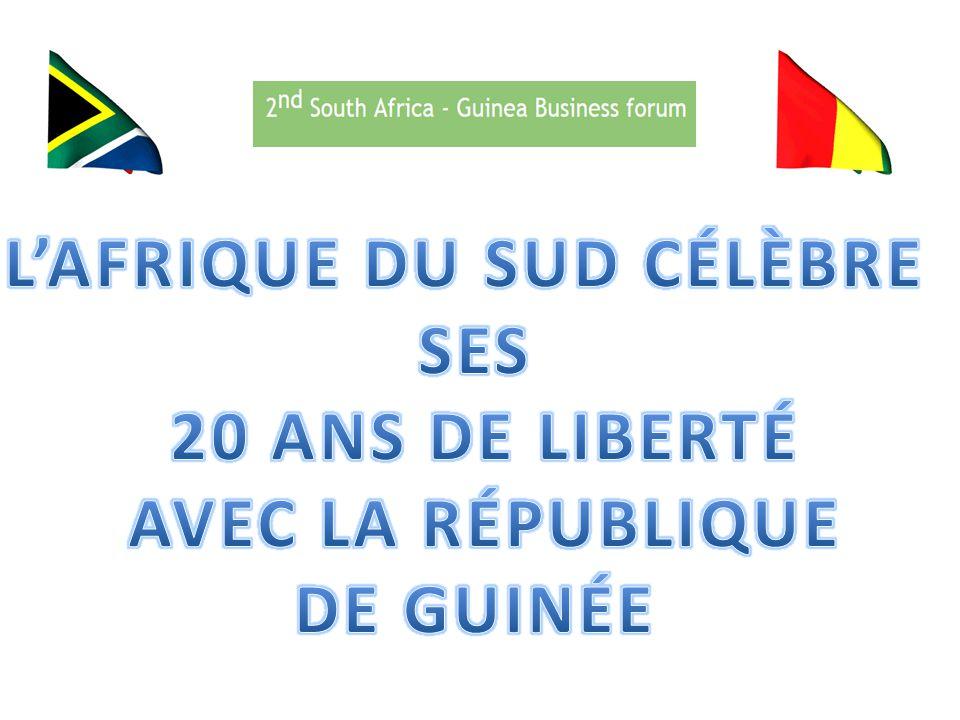 20 ANS DE LIBERTÉ En 2014, l Afrique du Sud célèbre ses 20 ans de Liberté et de Démocratie.