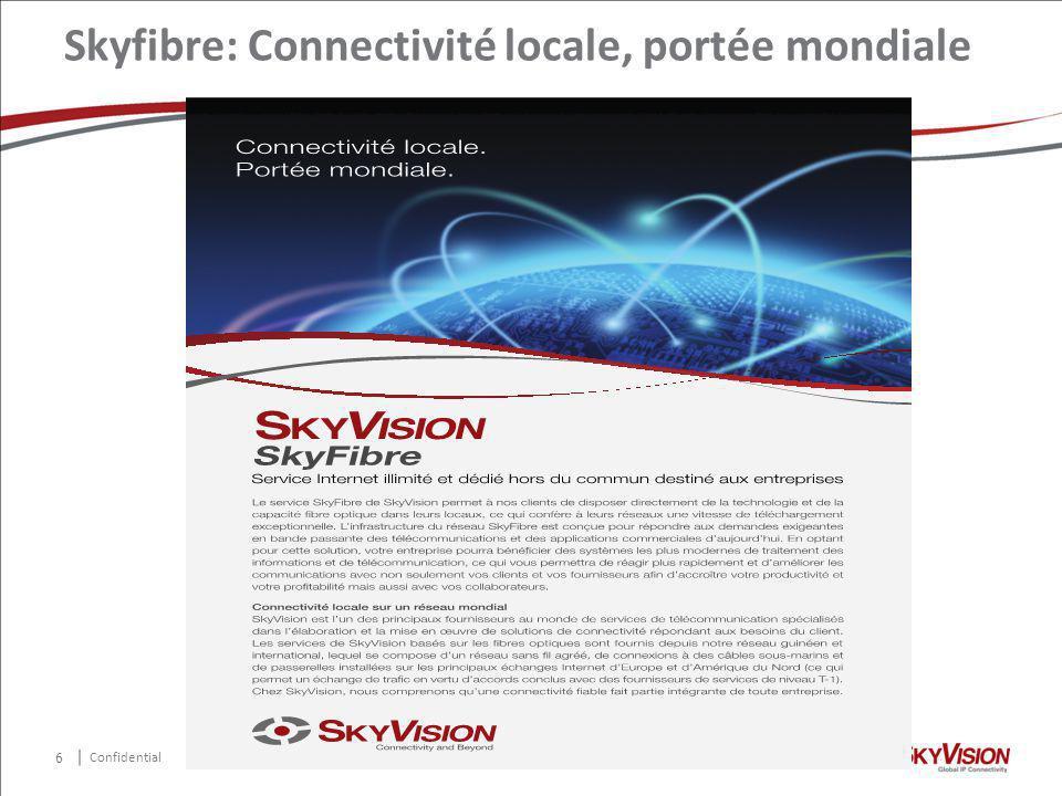 Confidential Skyfibre: Connectivité locale, portée mondiale 6
