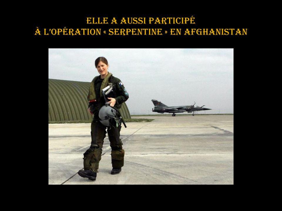 elle a participé à l'opération « épervier » au Tchad.