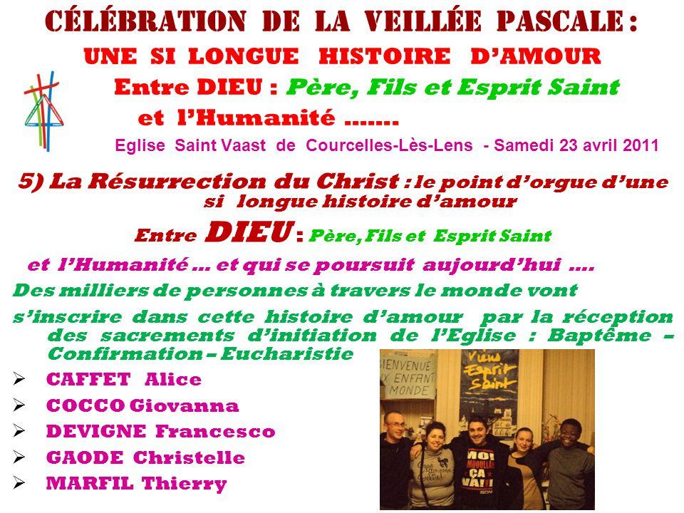 6) Interpellations de Pâques 2011 .