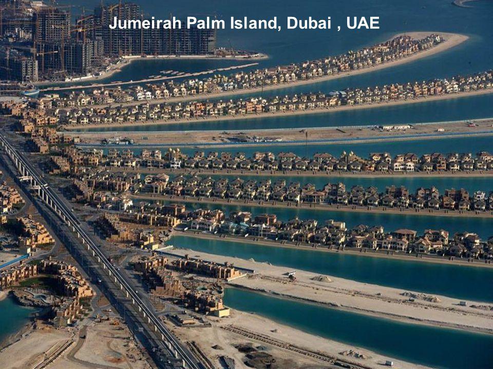 Jumeirah Palm Island, Dubai, UAE