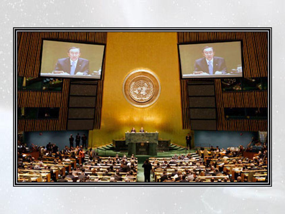 Finalement, le 21 décembre 2009 à l'ONU, la totalité des membres votèrent l'arrêt de toutes les fabrications de matières nucléaires militaires et la d