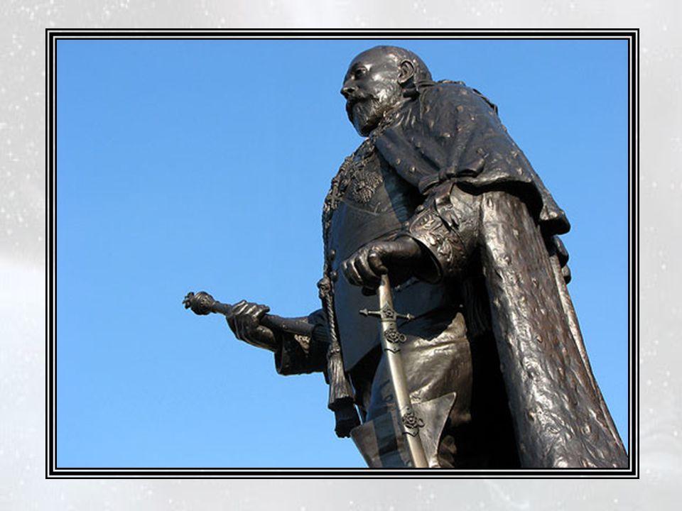 A Oxford, déjà, il inventait des personnages historiques et collectait des milliers de livres et de dollars pour leur ériger des statues.