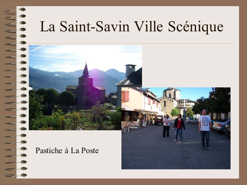 La Saint-Savin Ville Scénique Pastiche à La Poste