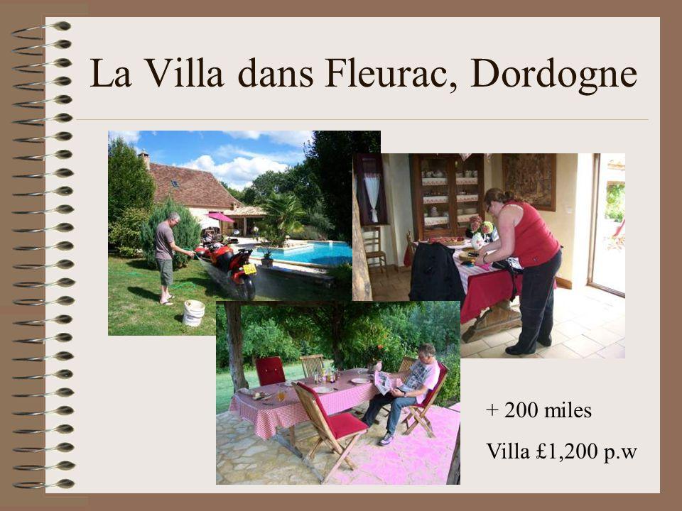 La Villa dans Fleurac, Dordogne + 200 miles Villa £1,200 p.w
