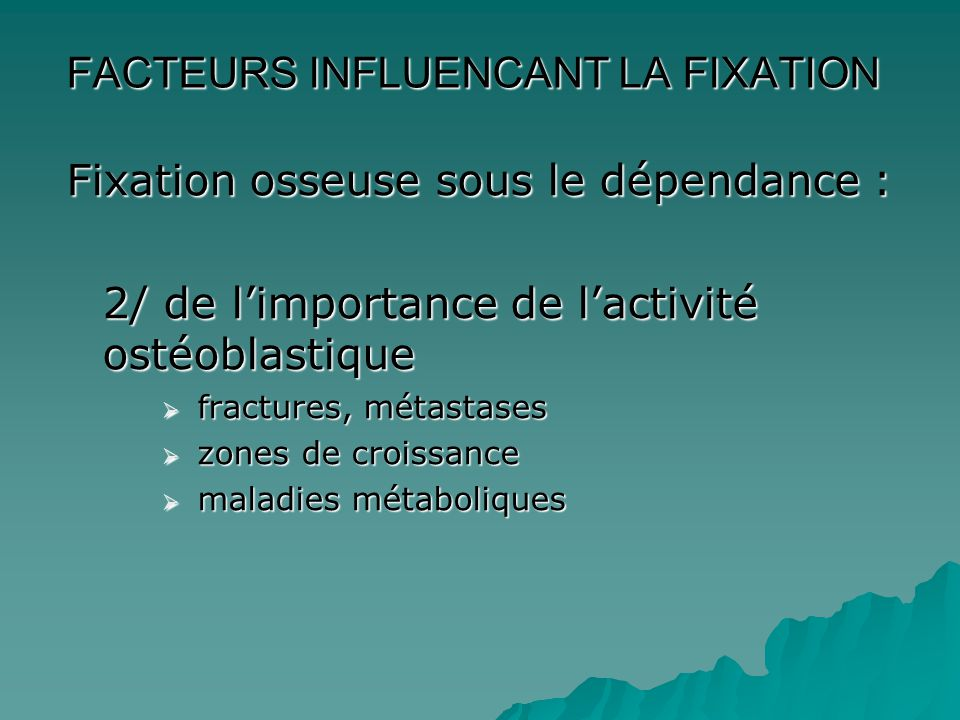 Indications non oncologiques  Infectieuses  Inflammatoires  Athérome