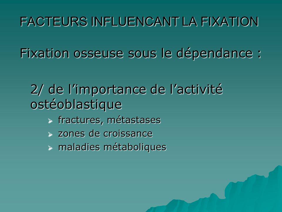  Diagnostic positif devant des douleurs  Bilan d'extension  Bilan d'évolutivité et de réponse au traitement