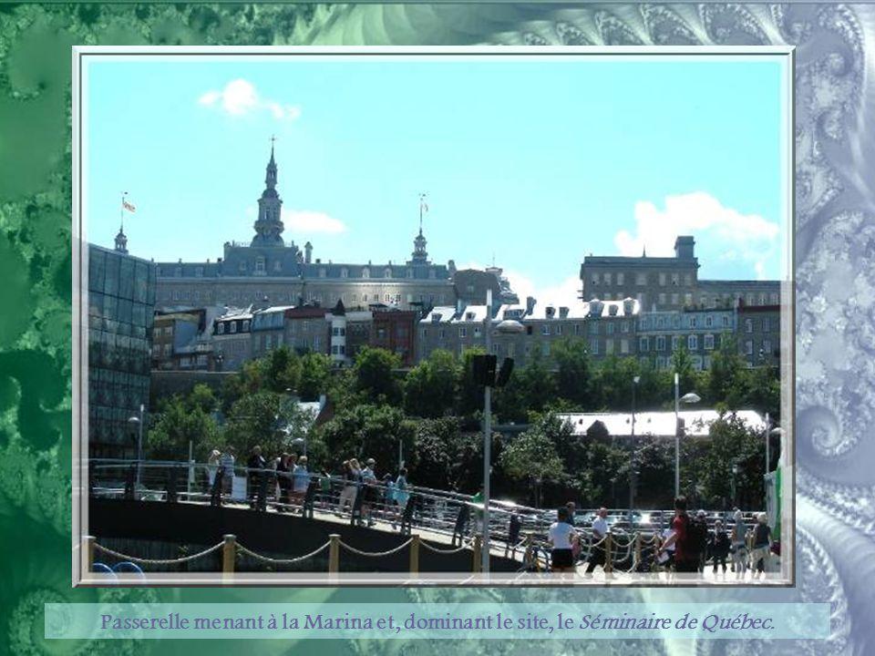 Une œuvre de Michel Goulet : « Rêver le Nouveau Monde. » Elle a été offerte par la Ville de Montréal aux citoyens de la Ville de Québec, à l'occasion