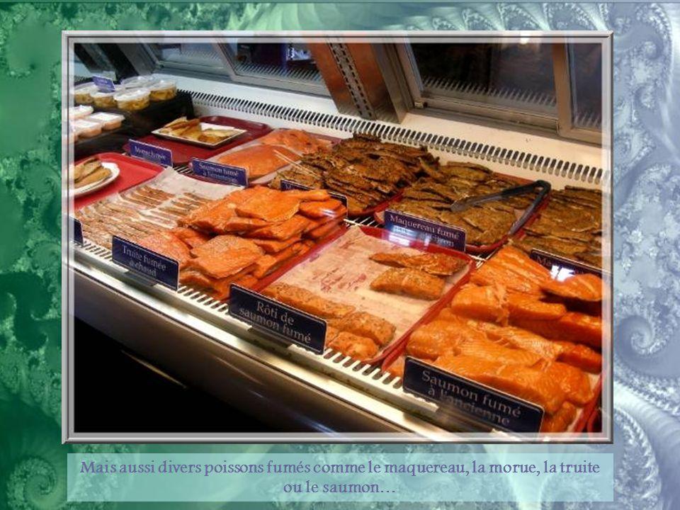 Le homard des Îles de la Madeleine est particulièrement apprécié.