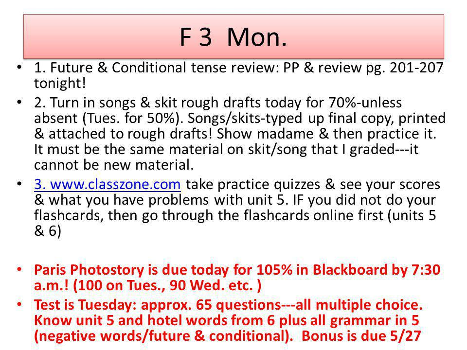 F 2-Book test answers Pg.248 ex.