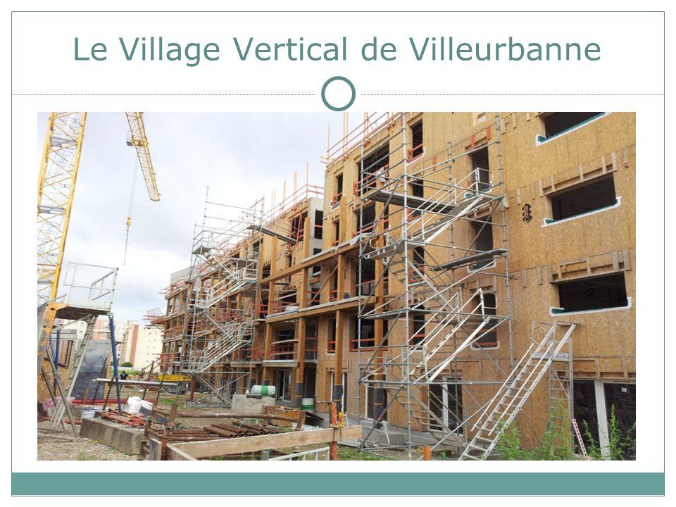 Le Village Vertical de Villeurbanne