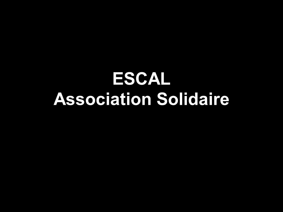 ESCAL Association Solidaire
