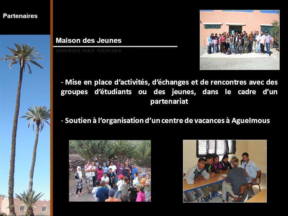 - Projet PICALA - Stage d'étudiants en Master : organisation des structures médico-sociales - Lien avec les autres étudiants ou foyer des jeunes, dans le cadre d'un partenariat Partenaires