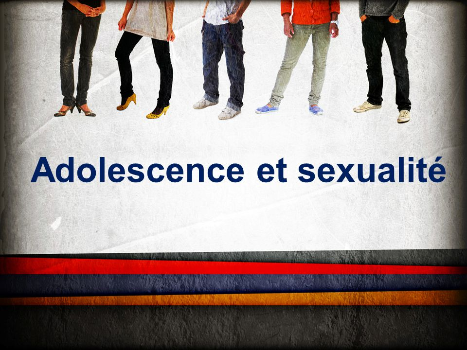Adolescence et sexualité