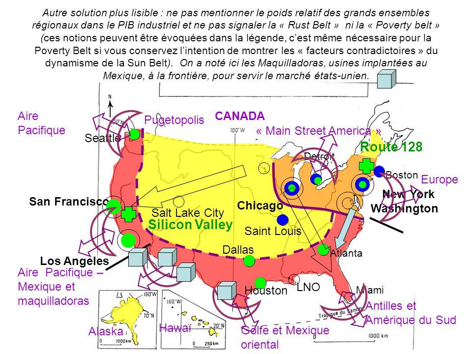 Autre solution plus lisible : ne pas mentionner le poids relatif des grands ensembles régionaux dans le PIB industriel et ne pas signaler la « Rust Be
