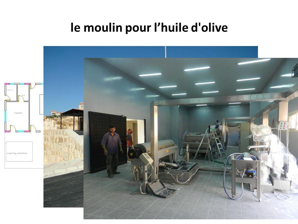 le moulin pour l'huile d olive