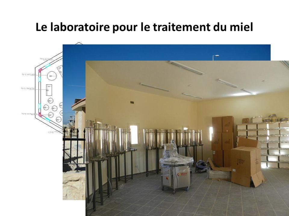 Le laboratoire pour le traitement du miel