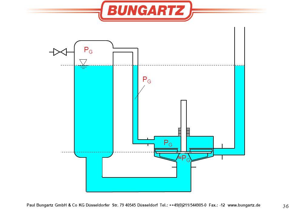 Paul Bungartz GmbH & Co KG Düsseldorfer Str. 79 40545 Düsseldorf Tel.: ++49(0)211/577905-0 Fax.: -12 www.bungartz.de PGPG PGPG PGPG ≈PG≈PG 36 Paul Bun