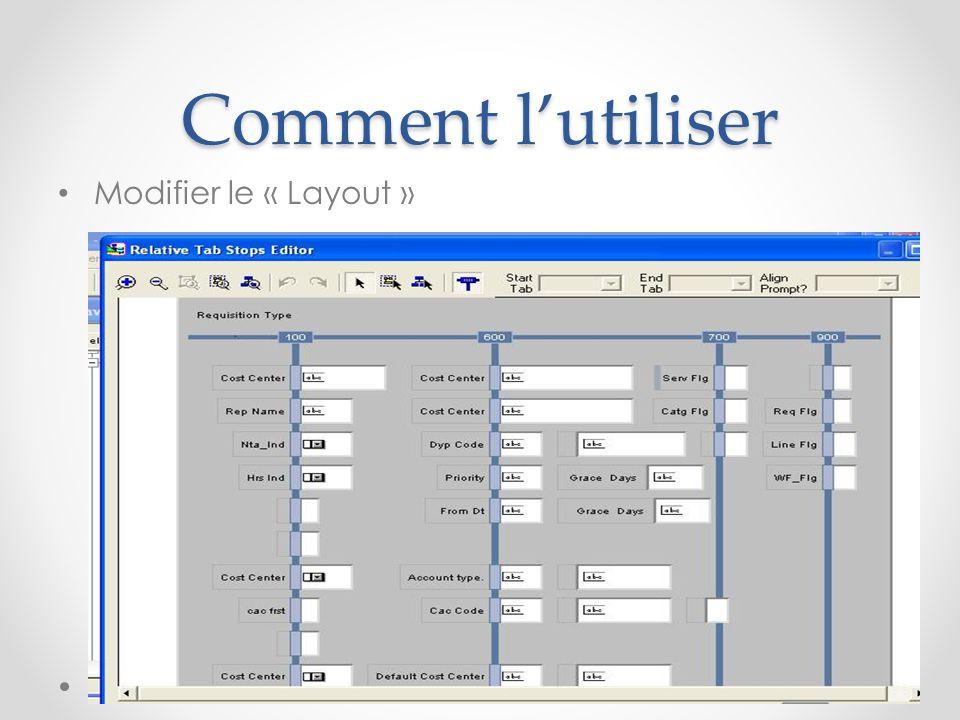 Comment l'utiliser Génération Module en une Form executable: - Clique sur le boutton Generate - Compilation « Ctrl + Shift + R ».