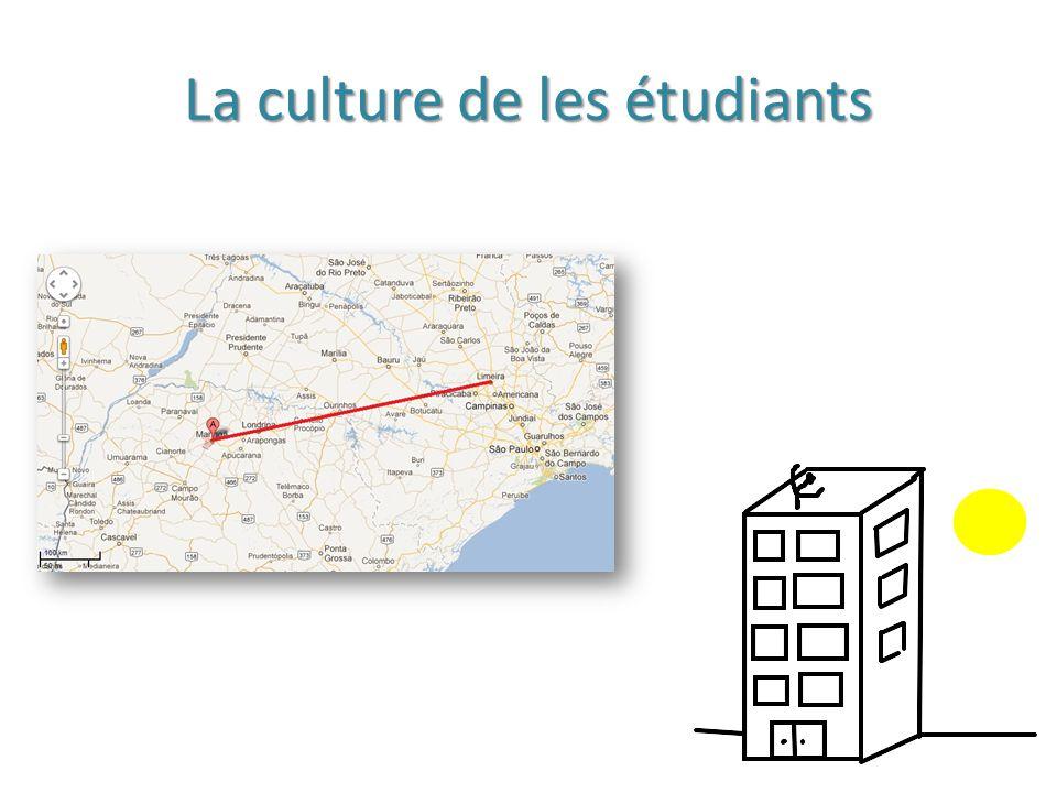 La culture de les étudiants