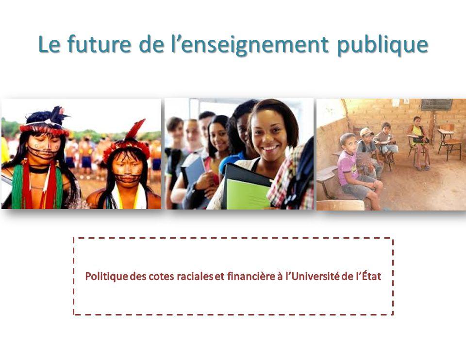 Le future de l'enseignement publique