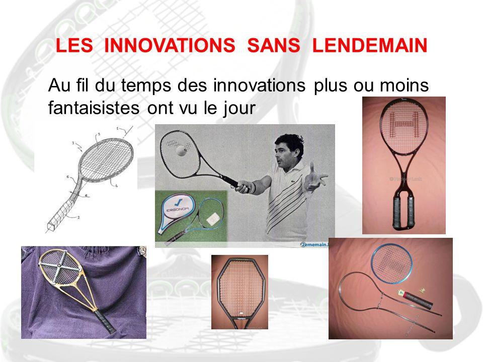 LES INNOVATIONS SANS LENDEMAIN Au fil du temps des innovations plus ou moins fantaisistes ont vu le jour