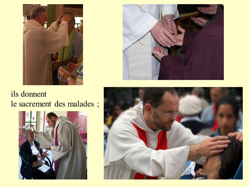 Ils bénissent, même l'évêque auquel ils doivent obéissance…