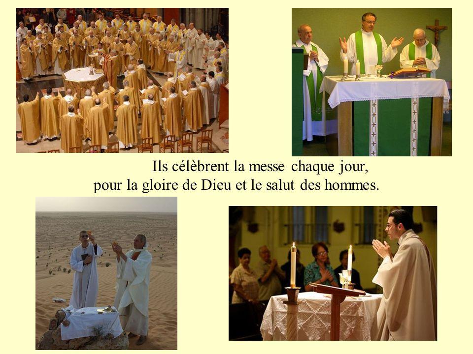 ils représentent sacramentellement Jésus-Christ, le grand Prêtre parfait dont ils sont l'icône.