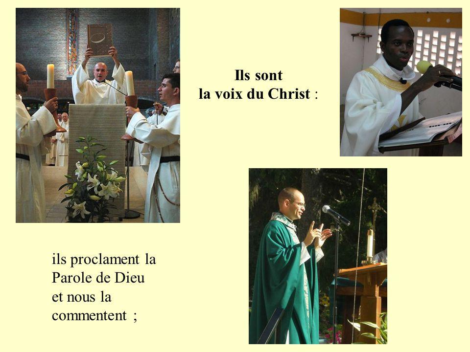 tous ont en commun d'être prêtres, configurés au Christ qui a donné sa vie par amour pour nous.