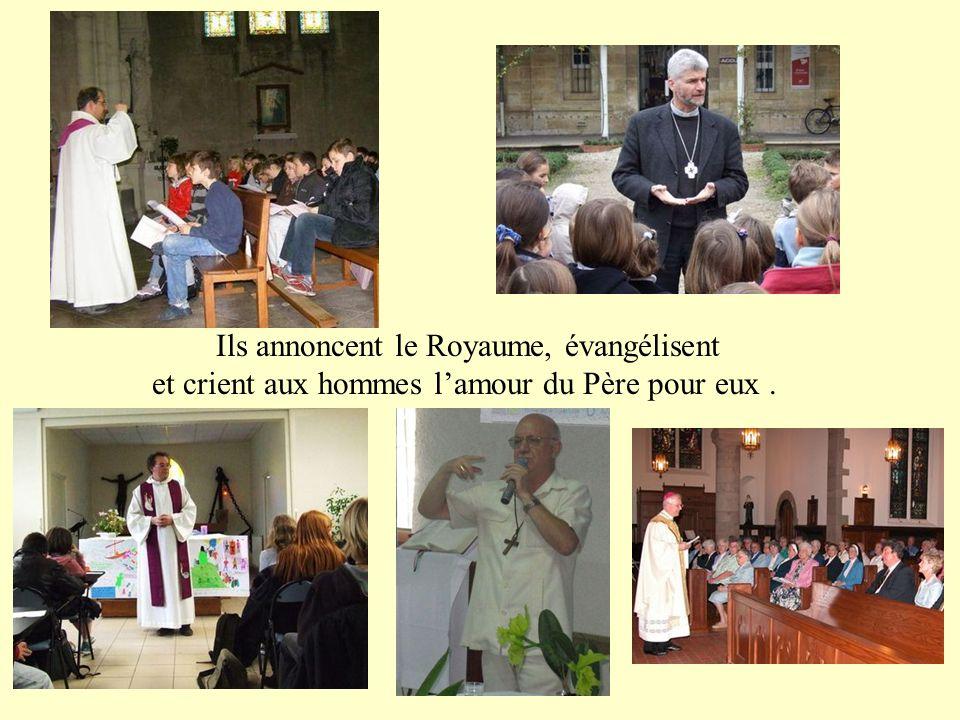 Ils sont la voix du Christ : ils proclament la Parole de Dieu et nous la commentent ;