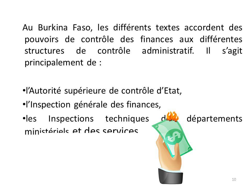 . II. LA CONTRIBUTION DES STRUCTURES ADMINISTRATIVES DE CONTROLE A LA MANIFESTATION DE LA TRANSPARENCE DANS LA GESTION DES FINANCES PUBLIQUES. En rapp