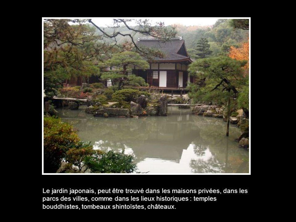 Les jardins japonais sont systématiquement clos.