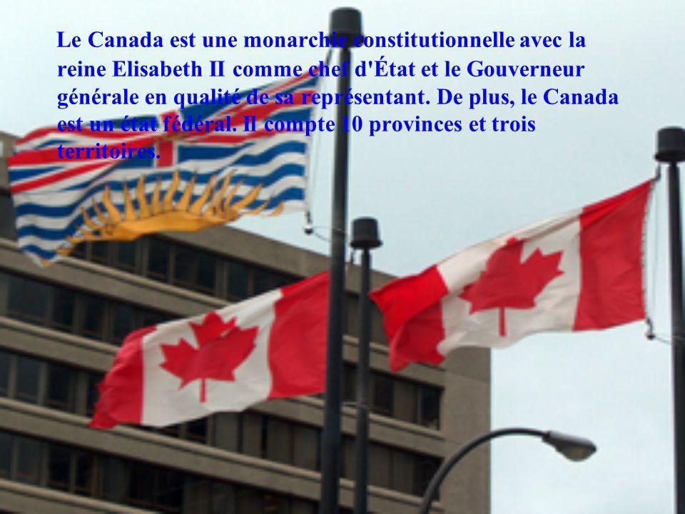 L anglais et le français sont les langues officielles à statut égal.