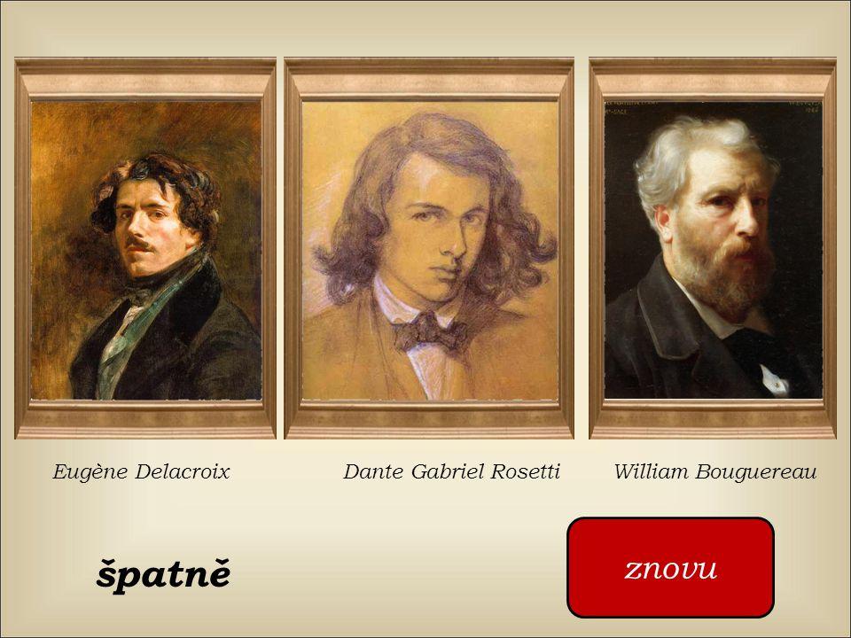 Kdo namaloval tento obraz William Bouguereau Dante Gabriel Rosetti Eugène Delacroix