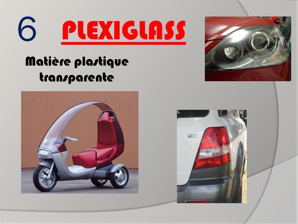 6 PLEXIGLASS Matière plastique transparente Pavillon de scooter Cabochon de clignotant Protège phare ?