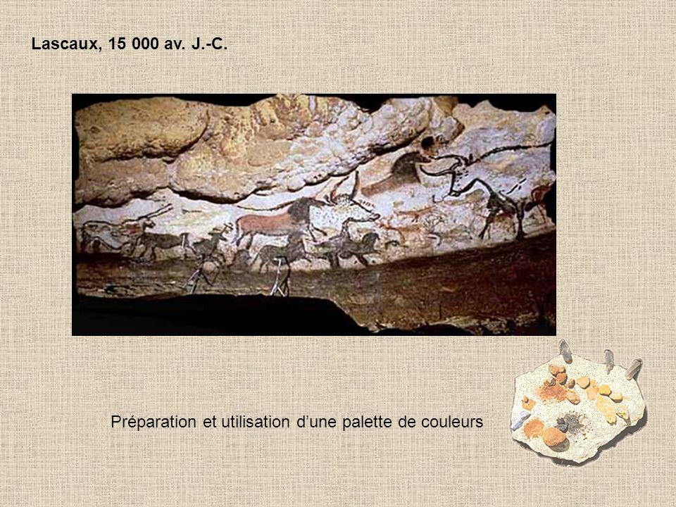 Mésopotamie, 8 000 av.J.-C. Utilisation de l'argile pour la poterie.