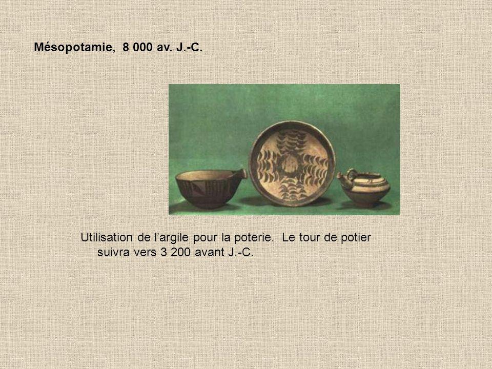 Égypte, 3 500 av. J.-C. Utilisation de cuivre et de plomb, la métallurgie est née !