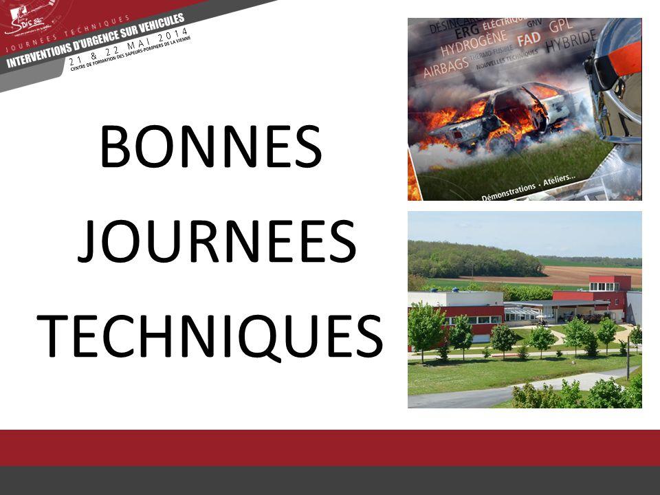 BONNES JOURNEES TECHNIQUES