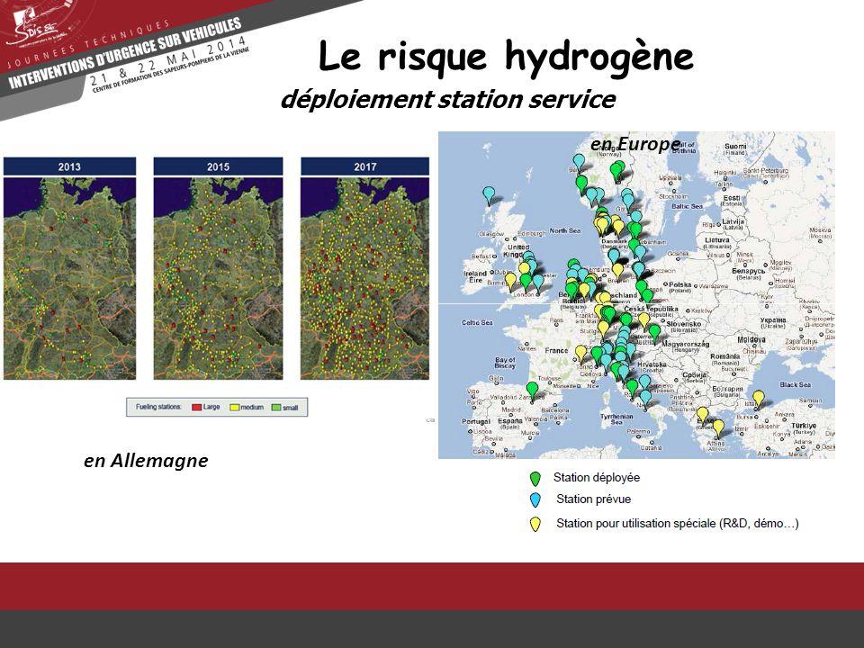 déploiement station service Le risque hydrogène en Allemagne en Europe