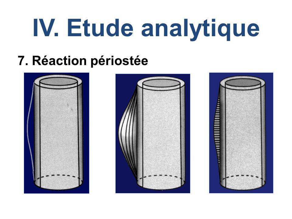 IV. Etude analytique 7. Réaction périostée