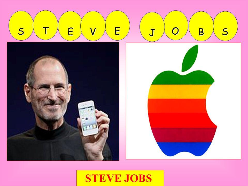 E S T E V O S B J STEVE JOBS
