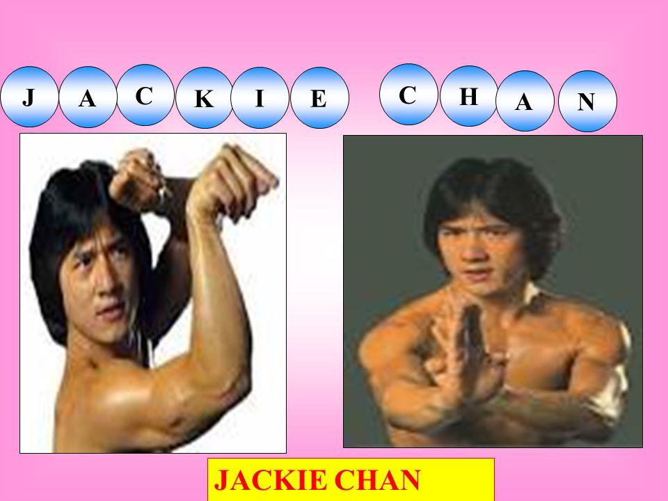 J K I E C H A N C A JACKIE CHAN