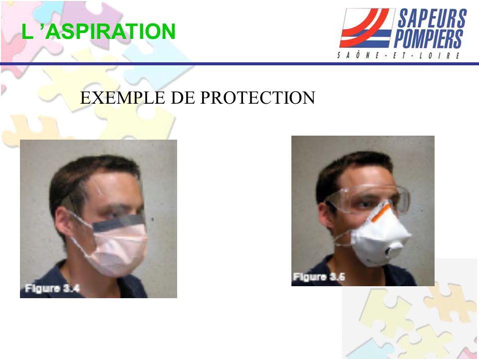 L 'ASPIRATION EXEMPLE DE PROTECTION