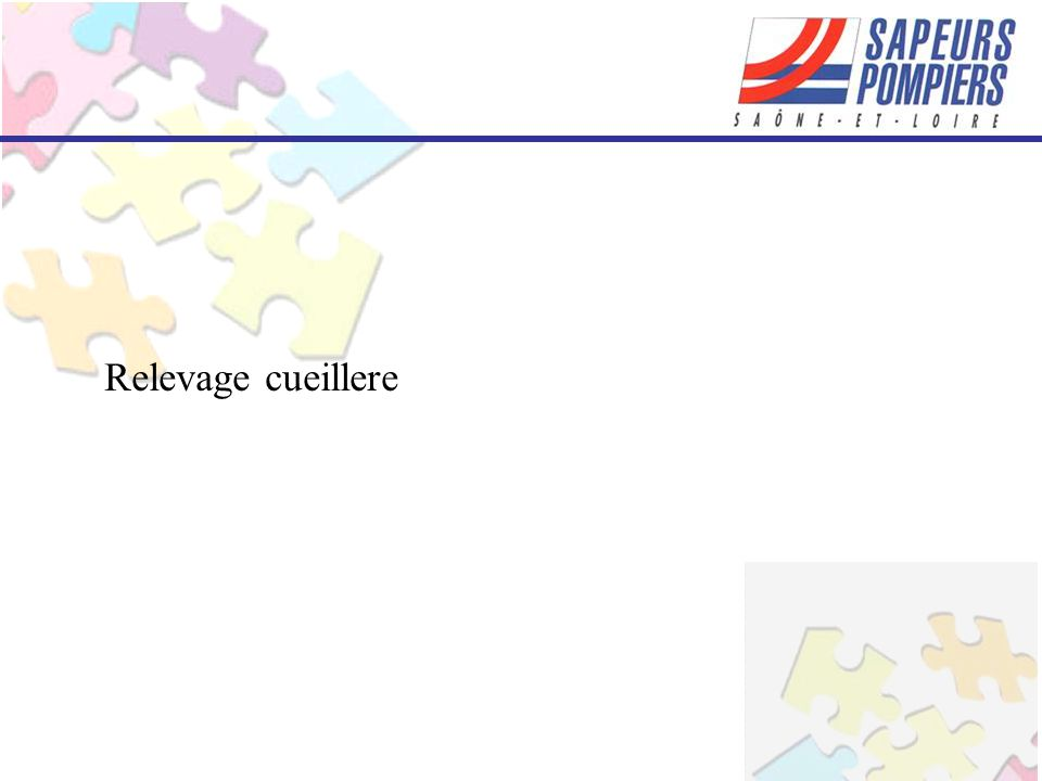 Relevage cueillere
