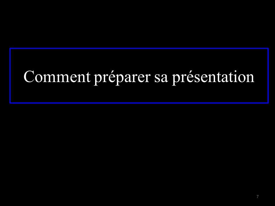 Comment préparer sa présentation 7