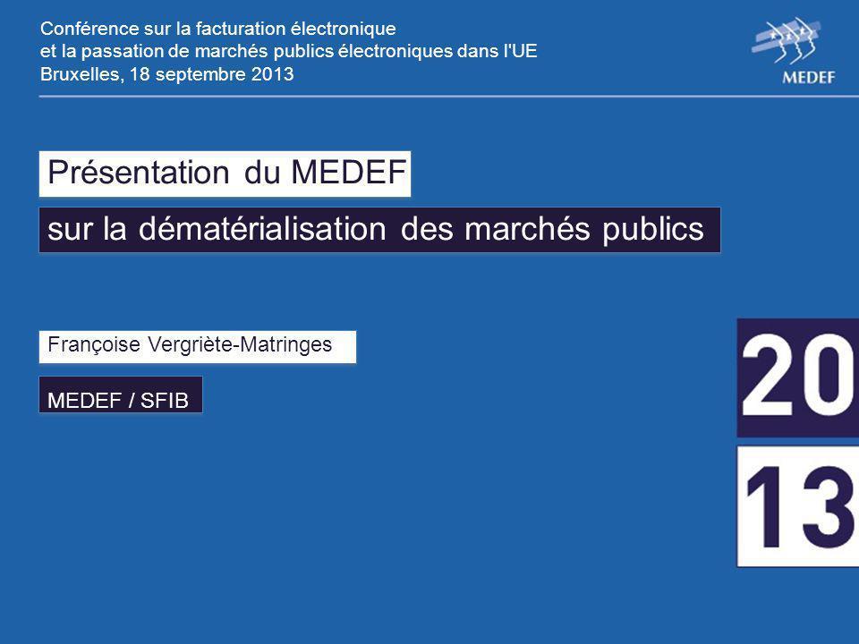 Etendre la généralisation de la dématérialisation à l'exécution des MP (ordres de service, décomptes, facturation électronique, archivage …).