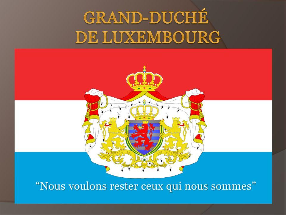 Le Luxembourg est le pays qui est disposé à l ouest de l Europe.