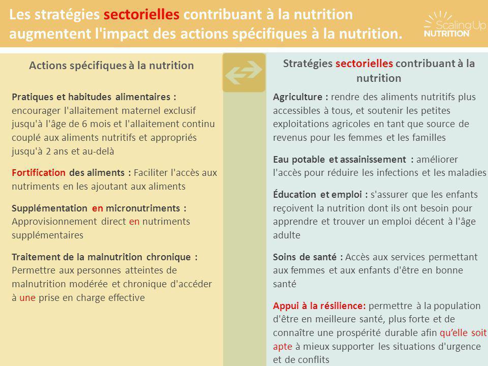 Pratiques et habitudes alimentaires : encourager l'allaitement maternel exclusif jusqu'à l'âge de 6 mois et l'allaitement continu couplé aux aliments