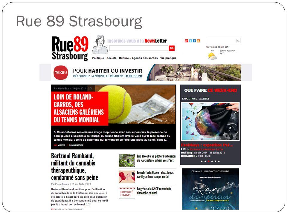 Rue 89 Strasbourg