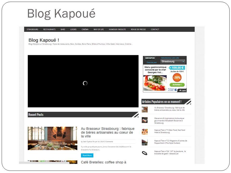 Blog Kapoué